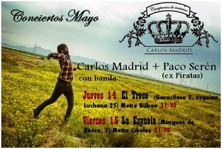 CARLOS MADRID EN MADRID